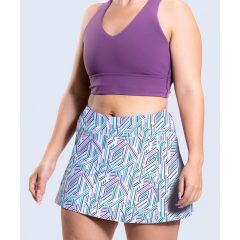 Moderate length skirts