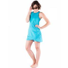 Racecation Dress Aquamarine